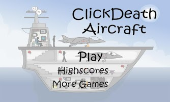 Screenshot of Stickman ClickDeath Aircraft