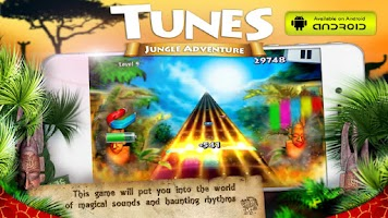 Screenshot of Tunes Jungle Adventure