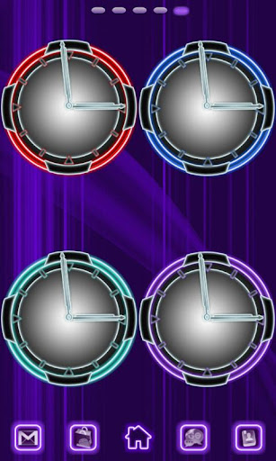 Neon Clock Collection