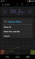 Screenshot of deciBel