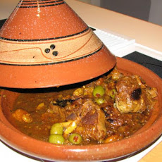 Tagine of Chicken, Preserved Lemon, & Olives