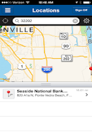 Screenshot of Seaside Commercial Banking