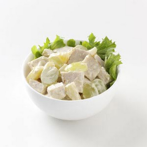 Curried Chicken Salad with Pineapple and Grapes