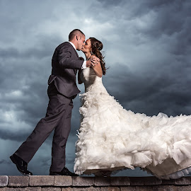 by Justin Harris - Wedding Bride & Groom ( wedding photography, wedding, wedding day, wedding dress )