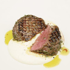 Griddled Steak With Horseradish Sauce