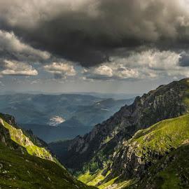 Busteni, Valea Cerbului by Ionel Lupu - Landscapes Mountains & Hills (  )