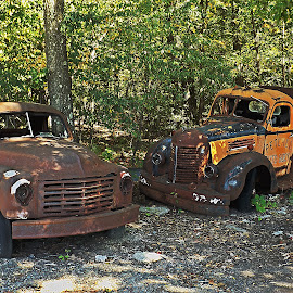 Antiquity by Scott Strausser - Novices Only Objects & Still Life ( old, cars, rusted, vehicles, rusty, transportation, rust, antiques )
