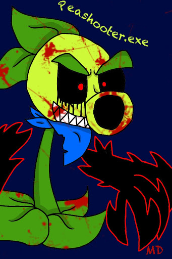 Peashooter Exe Pvz Oc By Flamingbowser