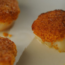 Chorizo-Crusted Scallops
