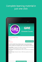 Screenshot of GRE Exam Prep