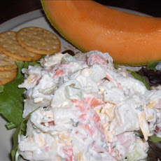 Green Goddess Crab Salad