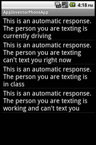 Text Responder
