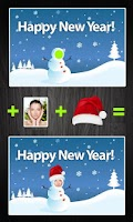 Screenshot of iFaceInCardFree-greeting cards