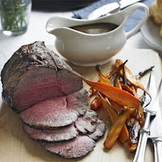 Roast Beef & Carrots With Easy Gravy