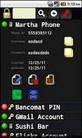 Screenshot of Personal Password Manager