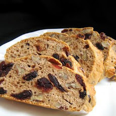 Cranberry -Almond Biscotti Light/Diabetic Version