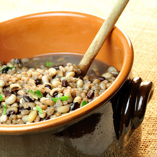 Southwestern Three-Bean and Barley Soup