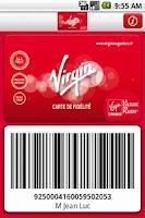 Screenshot of Carte Virgin