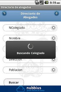 Abogados de Granada - screenshot
