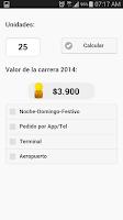 Screenshot of Bogotá Taxi 2015