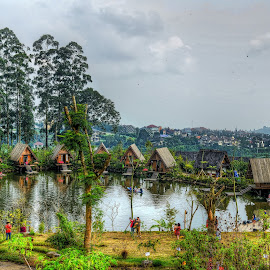 Dusun Bambu by Max Bowen - Landscapes Mountains & Hills