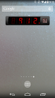 Screenshot of Predator Clock Widget