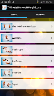 7 minutes workout  App Free - screenshot