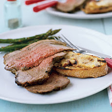 Slow-Grilled Leg of Lamb