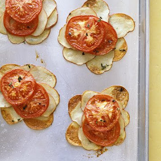 Potato and Tomato Galettes