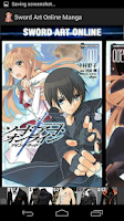 Screenshot of Sword Art Online Manga