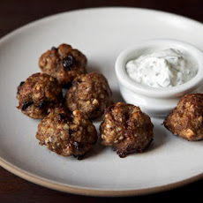 Lamb Meatballs with Yogurt Sauce