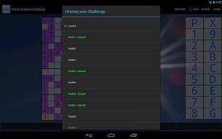 Screenshot of 16x16 Sudoku Challenge HD