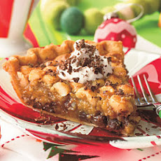 Chocolate-Macadamia Pie