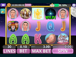 Screenshot of Bible Slots Free