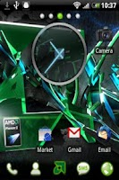Screenshot of AMD Go Launcher EX Theme
