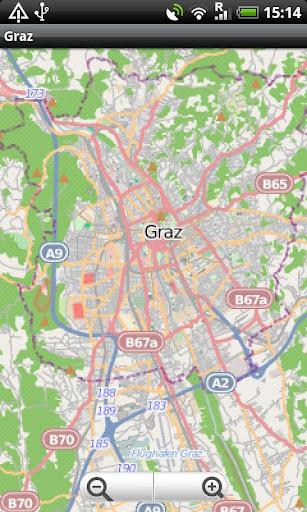 Graz Street Map