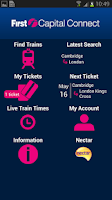 Screenshot of Rail Tickets