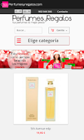 Screenshot of Perfumes online