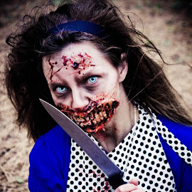 Alice by Megan Webb - People Body Art/Tattoos ( zombie, makeup, alice, special fx, halloween )
