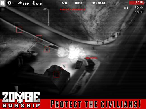 Zombie Gunship - screenshot