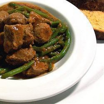 Greek Lamb and Green Bean Stew