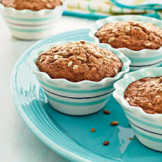 Whole Wheat Carrot-Nut Muffins