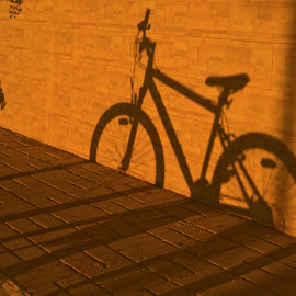 SHADOW RIDER by Russell Clarke - Transportation Bicycles