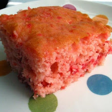 Cake Mix Cherry Bars