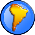 Flags of South America 3D Free icon