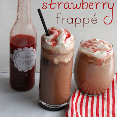 Chocolate Strawberry Frappé