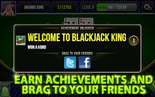Screenshot of Blackjack King