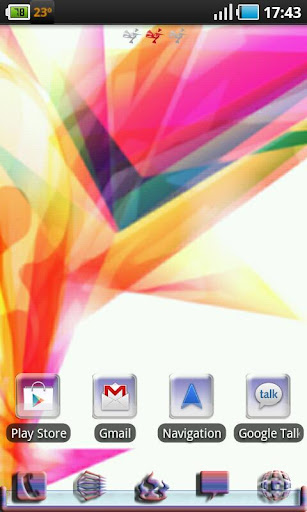 Abstract Theme Go Launcher EX