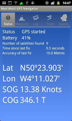 Mad Mutt Marine GPS Navigator