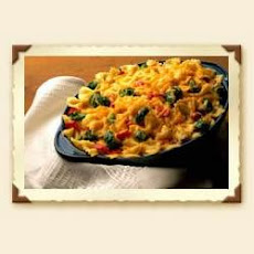 Cheddar and Vegetable Pasta Bake